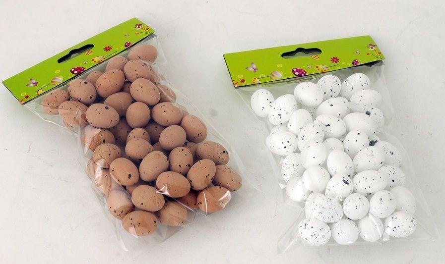 Sada velikonoční vajíčka KROPENATÉ 2,5cm - 50ks