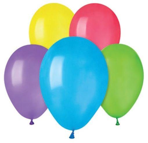 Nafukovací balonky MIX 19 cm - 5ks