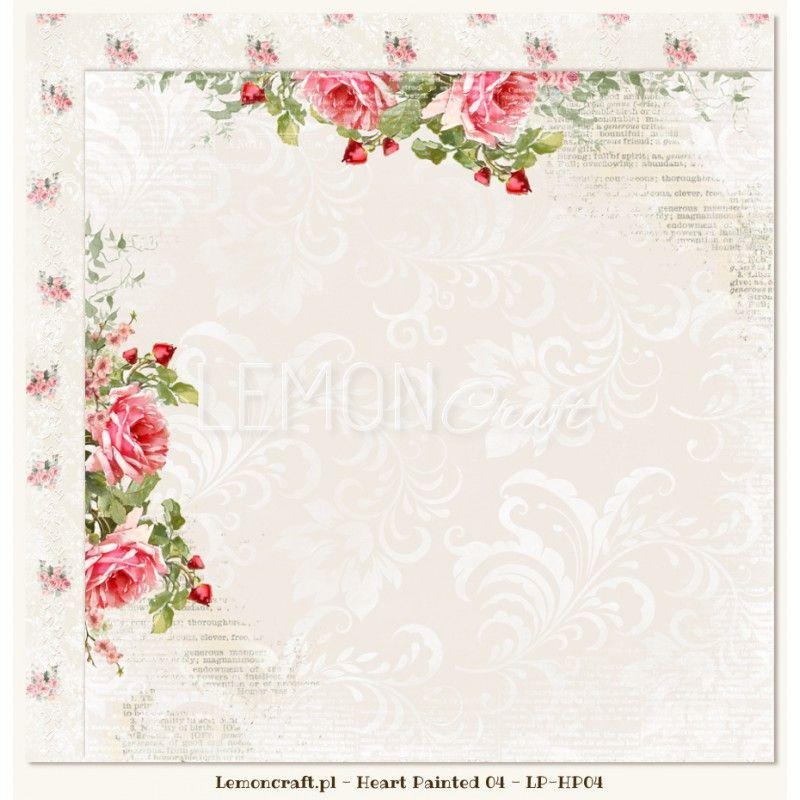 Oboustranný papír 200 g/m2 30 x 30cm - 1ks