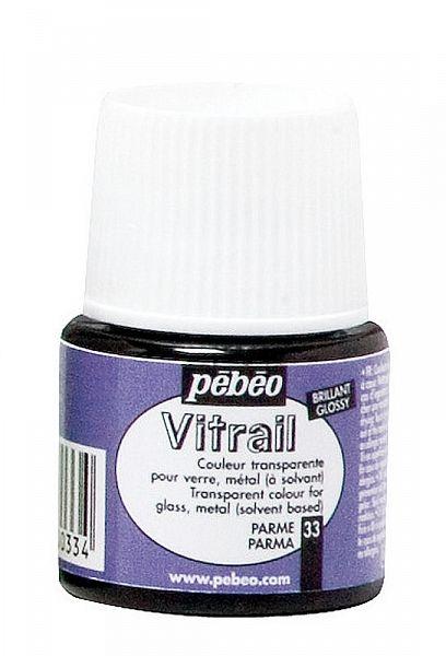 Barva na sklo Vitrail Pébéo - 33 lila