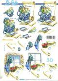 3D - Decoupage papír A4 PROMOCE