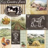 Ubrousek 33 x 33 cm COUNTRY FARMA