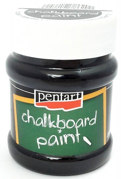 Černá barva na tabuli Pentart 230ml