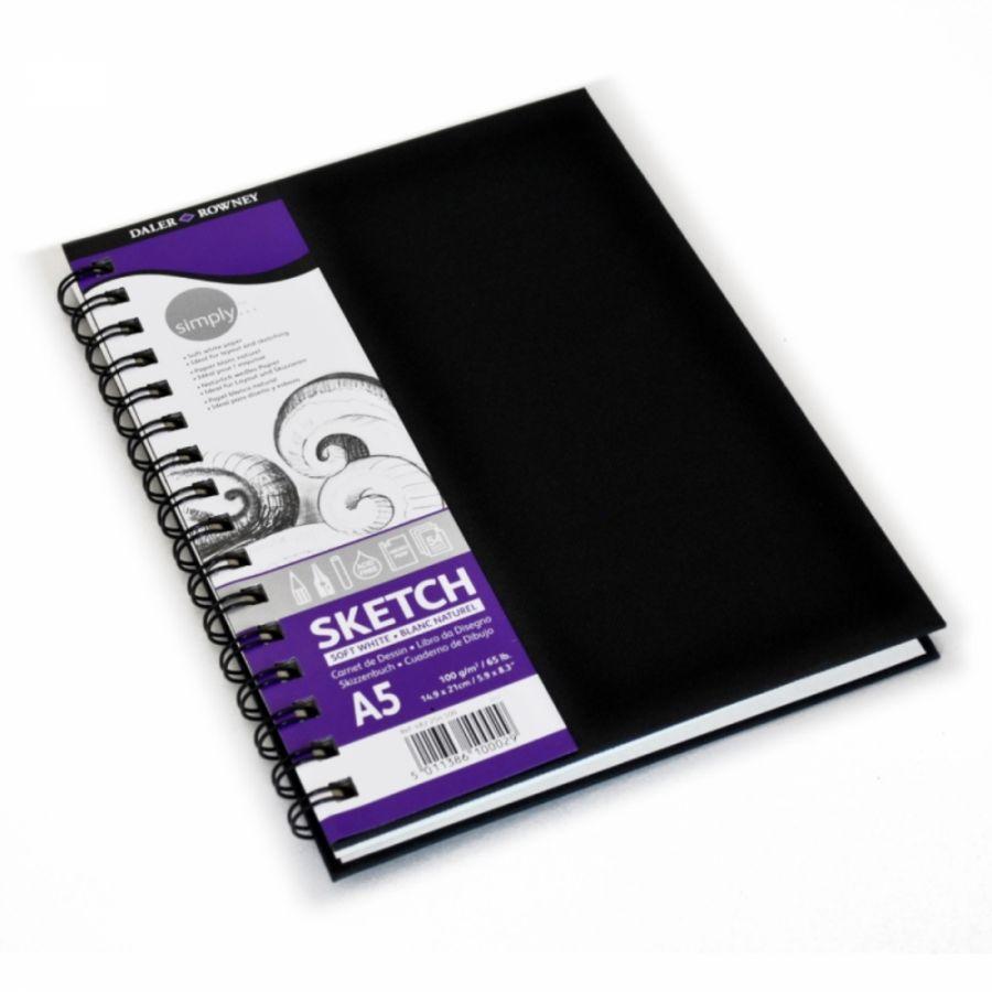 Skicovací kniha, kroužková vazba 100g/m2 54 listů - A3