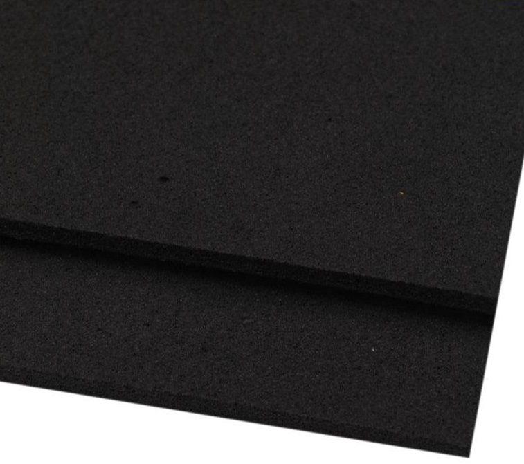 Pěnovka moosgummi černá 20x29 cm - 1 ks