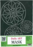 Šablona plast vzor DAILY ART  30 x 21 cm
