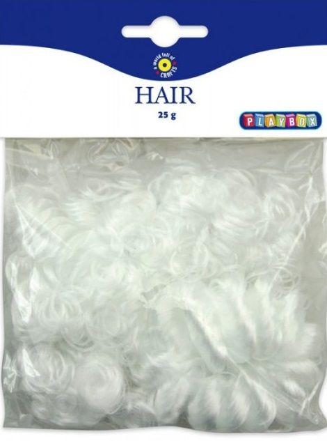 Vlasy, vousy na výrobu postaviček/andílků 25g