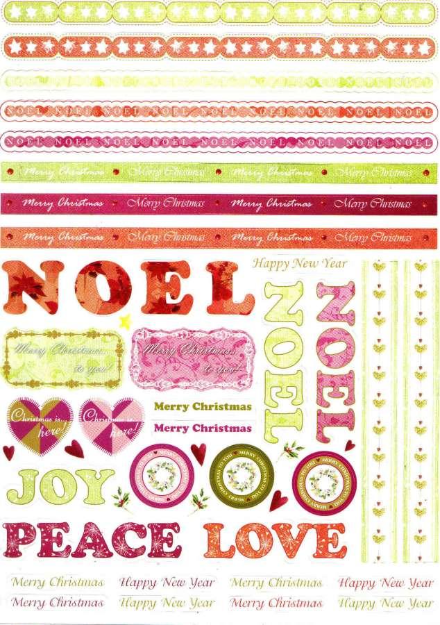 Kreativní papír výřez BORDURY 21x29,5cm
