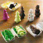 3D formy (na čokoládu i na svíčku) 6,5x3,5cm