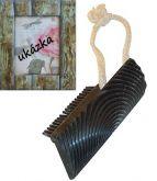 Fládrovací gumov tvořítko - hřeben k imitace dřeva 10cm