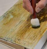Fládrovací kolébka - tvořítko k tvorbě imitace dřeva 10cm Stamperia