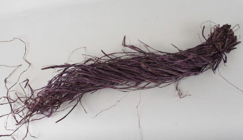 Lýko/ RAFIA/ fialová 50g