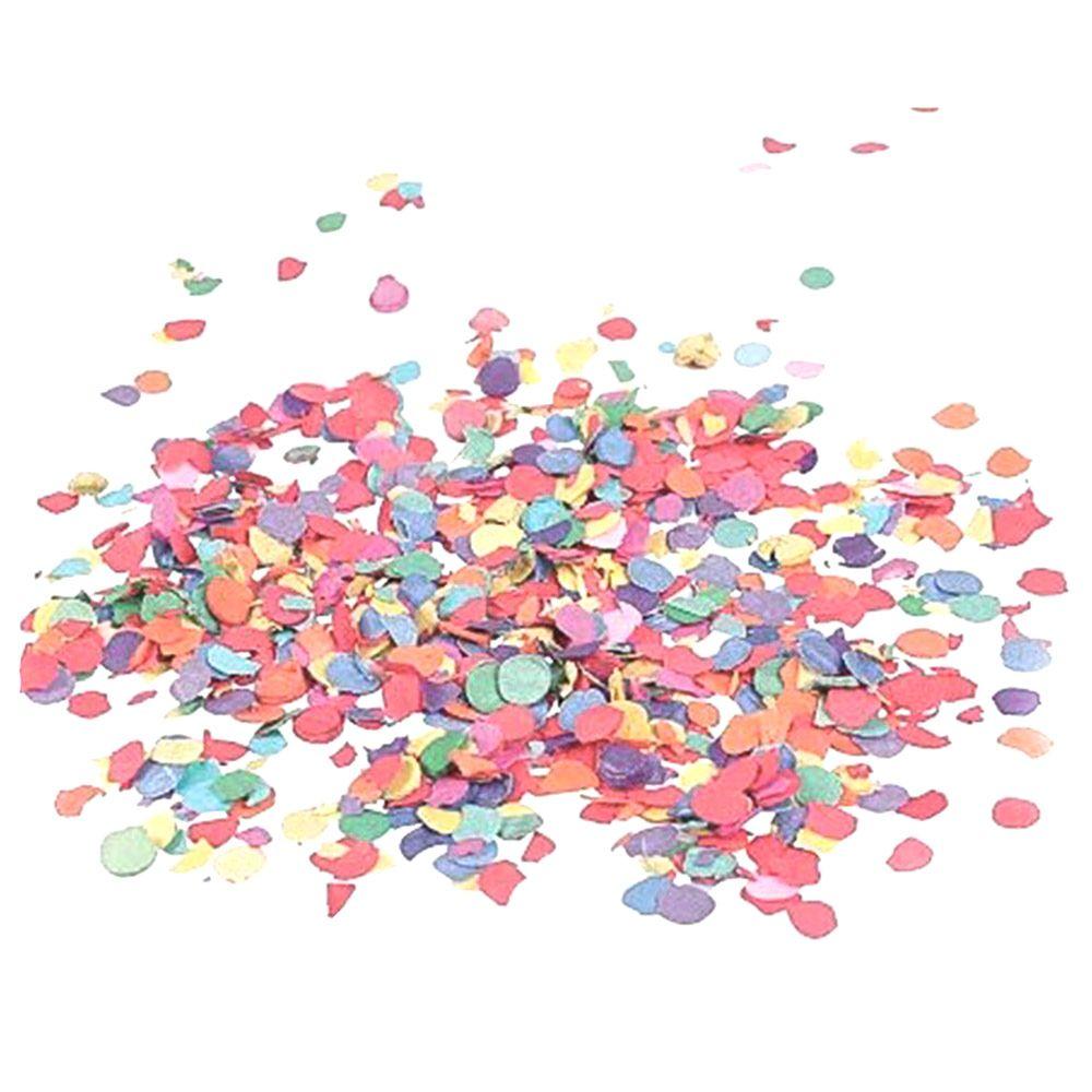 Papírové barevné konfety 100g