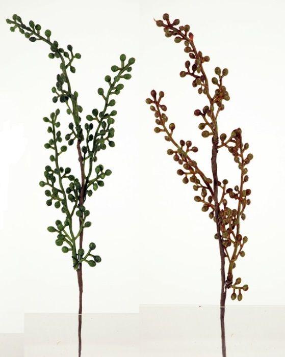 Dekorace umělá VĚTVIČKA 24cm - 1ks