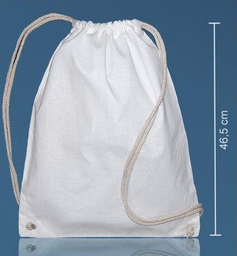 Bavlněný batůžek 140g/m2 37 x 46,5 cm
