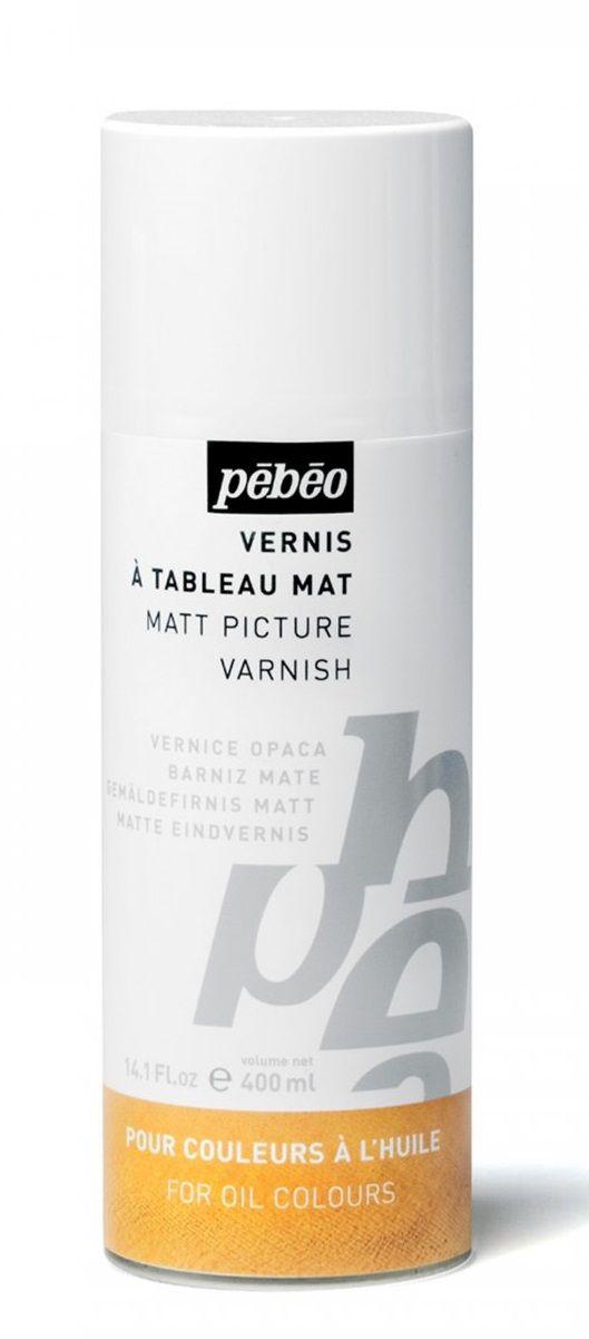 Lak malířský PEBEO pro olejové barvy matný- 400ml