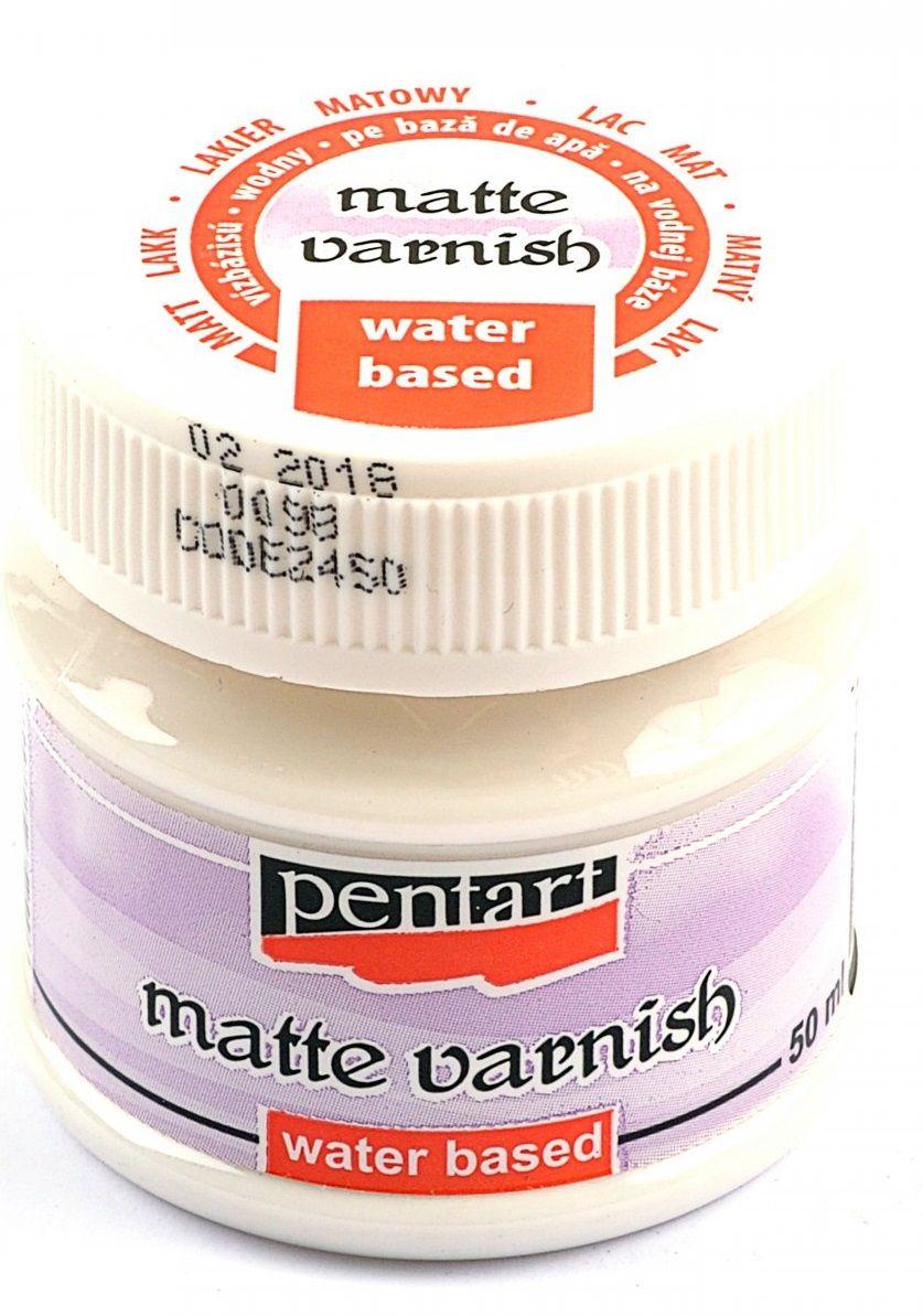 Lak akrylový Pentart MAT 50ml,závěrečný matný lak