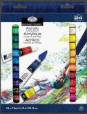 Sada akrylových barev Royal & LANGNICKEL 24x12ml