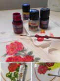 Barvy na porcelán a sklo Pentart - 30 ml