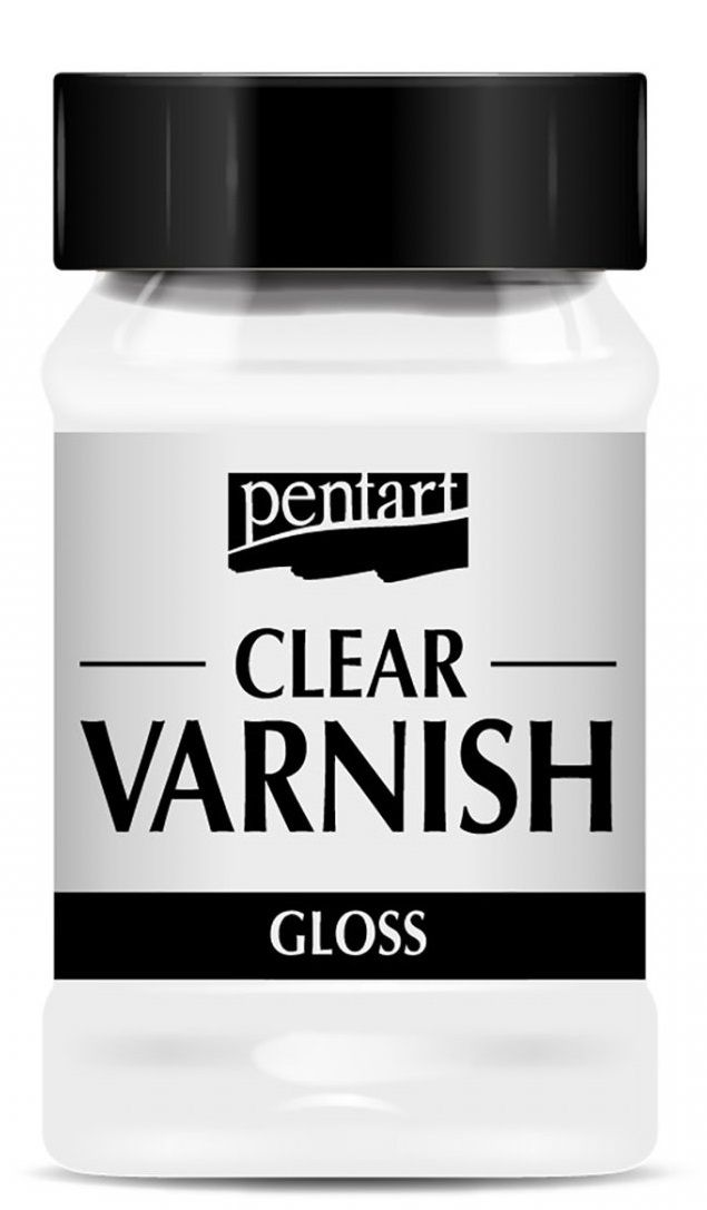 Syntetický lak CLEAR lesklý Pentart - 100ml
