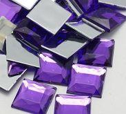 Transparentní mozaikové kamínky/ kabošony 12mm - 100ks
