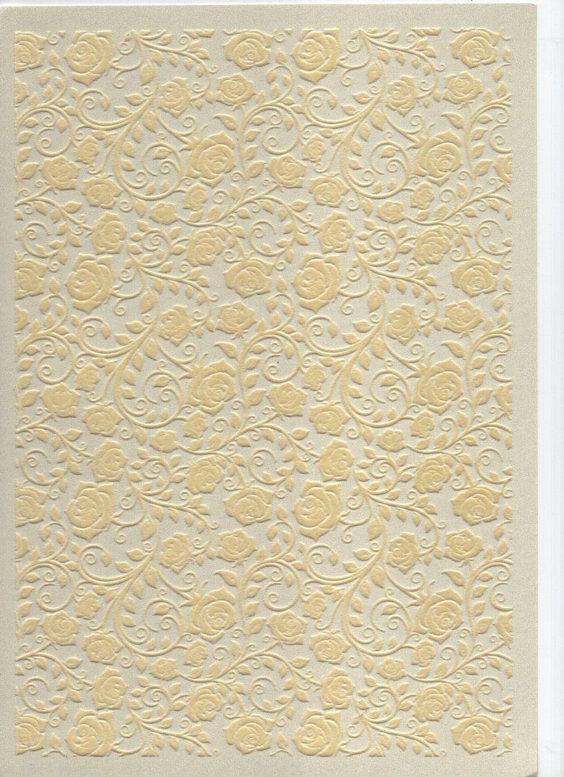 Kreativní papír 3D A4 250g/m2 RŮŽE