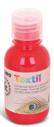 Barva na textil 125ml - Červená Morocolor