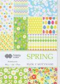 Kreativní papíry SPRING 80g/m2 A4  jaro - 15listů