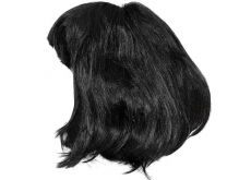 Paruka černé vlasy krátká
