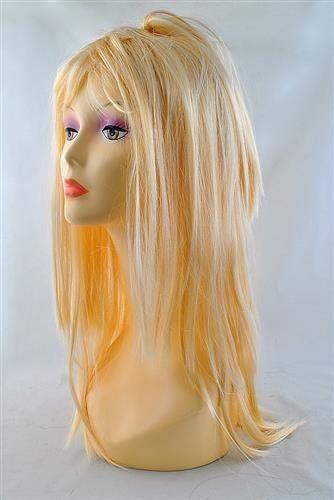 Paruka dlouhé černé vlasy 65cm