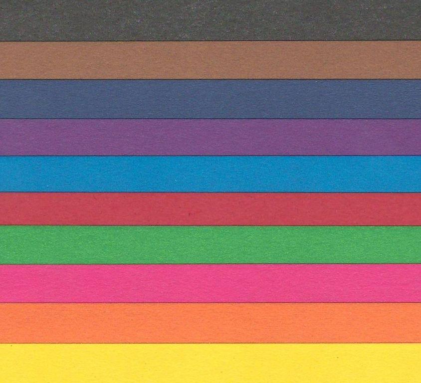 Sada pestrobarevných papírů A4 80g/m2 - 20 listů