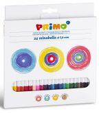 Sada uměleckých pastelek PRIMO tuha 3,8mm MINABELLA 24ks
