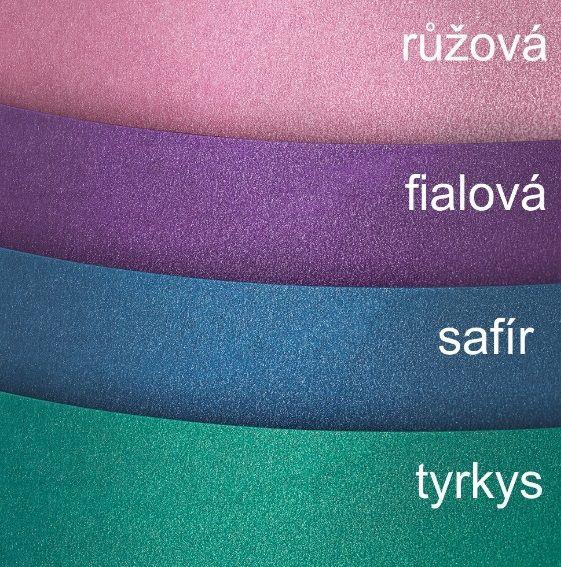 Kreativní oboustr. papír 220g/m2 MILENIUM fialová 20x30cm