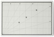 Řezací podložka oboustranná samoregenerující 45x30cm