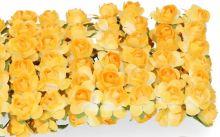 Růžičky papírové cca 10mm - 12ks