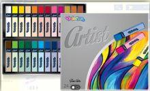Suché umělecké pastely ARTIST FINE ARTS - 24ks