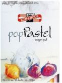 Blok na pastel barevný mix 220g/m2  345x245mm - 20ks