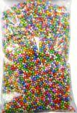 Kuličky z polystyrenu barevné 2-4mm - 8g
