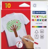 Set Popisovače na textil Centropen 10ks
