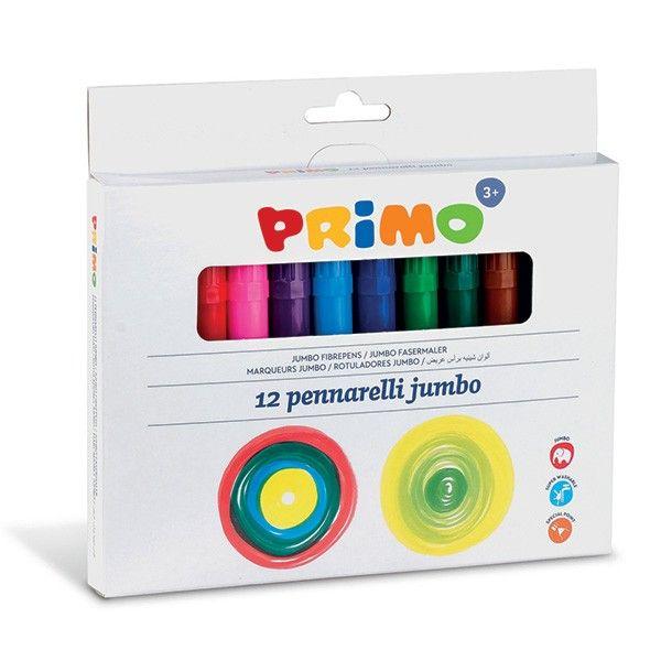 Fixy JUMBO PRIMO hrot 7,5mm 12ks Morocolor