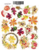 Samolepky Botany autumn 21x16cm