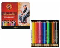 Kazeta Pastelky akvarelové KOH-I-NOOR 24ks