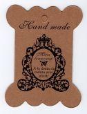Papírová grafická karta 10x8cm HAND MADE 1ks