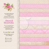 Sada papírů SWEET SECRETS 200g/m2 30,5 x 30,5cm - 12ks