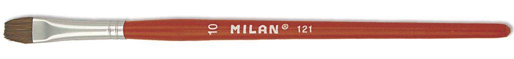 Umělecký štětec plochý přírodní vlas pony MILAN 121 - 1ks
