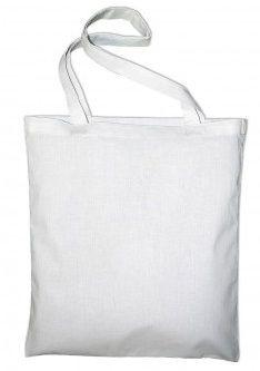 Textilní 100% bavlněná taška 140g/m2 38x42cm