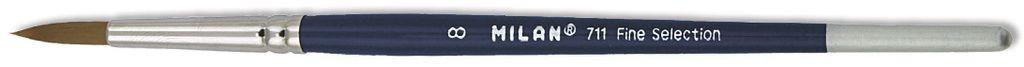 Umělecký štětec kulatý 711 MILAN č.8