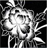 Kreativní papír Reprodukce RŮŽE 18x18cm