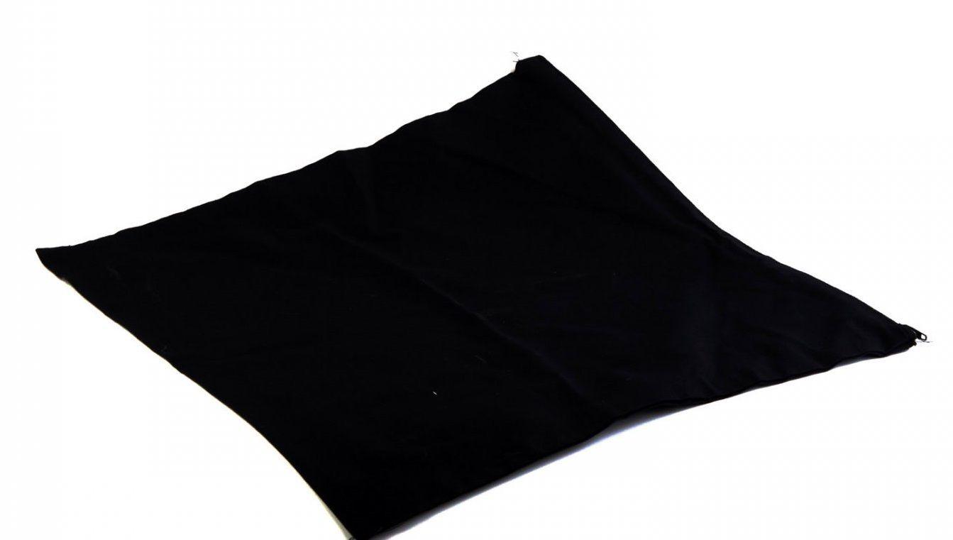 Povlak na polštář 100% bavlna ČERNÝ 40x40cm