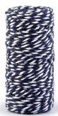 Ozdobná šňůrka Tm.modrá Ø1,5 mm - 18m